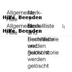 Bild zeigt Textüberlagerung bei Skalierung