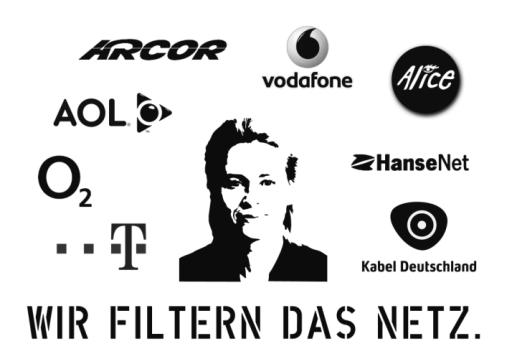 Wir filtern das Netz: Arcor, AOL, Vodafone, Alice, O2, T-Online, Kabel Deutschland, Hansenet